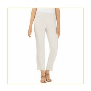 Hilary Radley Pull-On Ankle Pant